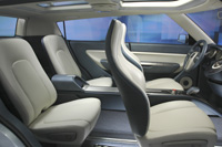 Kia Concept seating